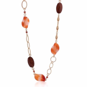 Front view of Autumn Breeze Necklace