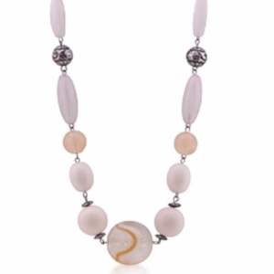Front view of Crescent Moon Necklace