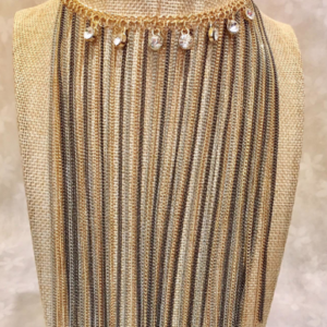 Front view of Egyptian Goddess Necklace
